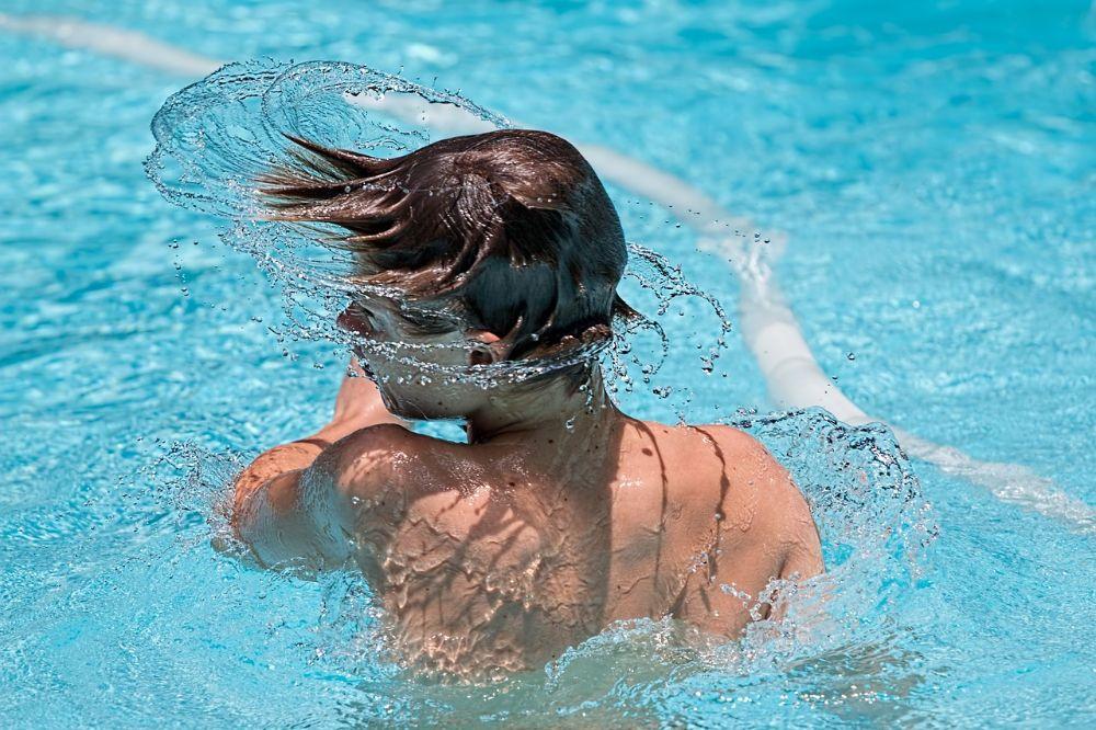 Een droom van een zwemba